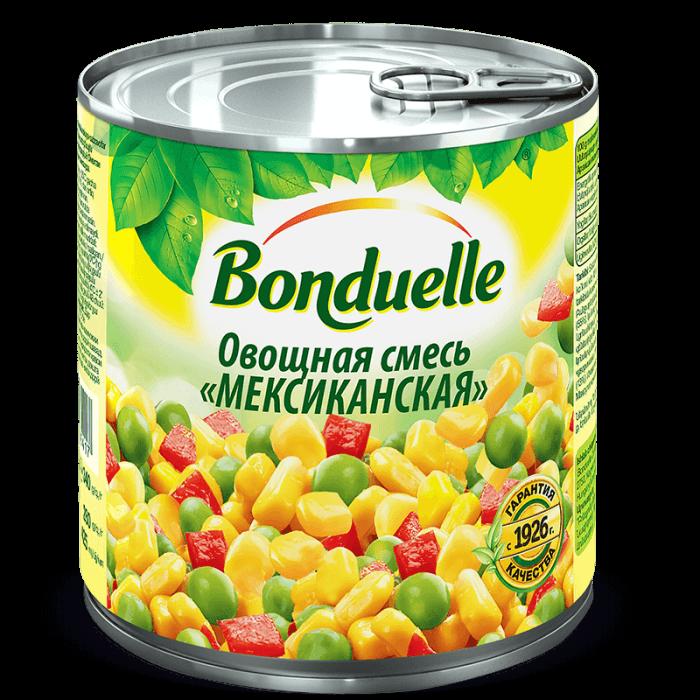 «Մեքսիկական» բանջարեղենային խառնուրդ