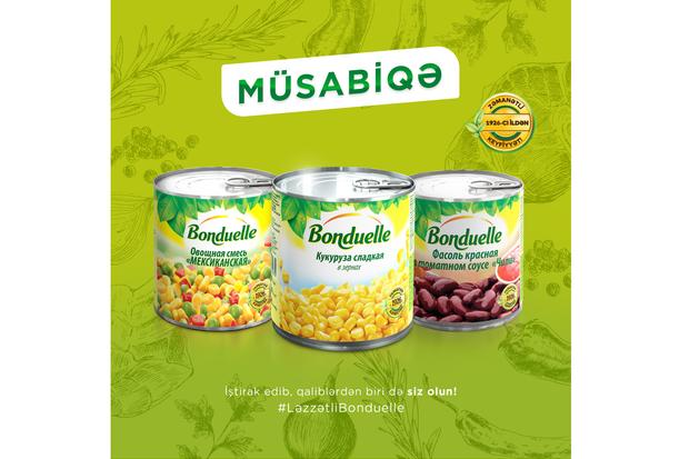 «Bonduelle Sevimli yeməyim» (bundan sonra – Müsabiqə) müsabiqəsinin rəsmi qaydaları