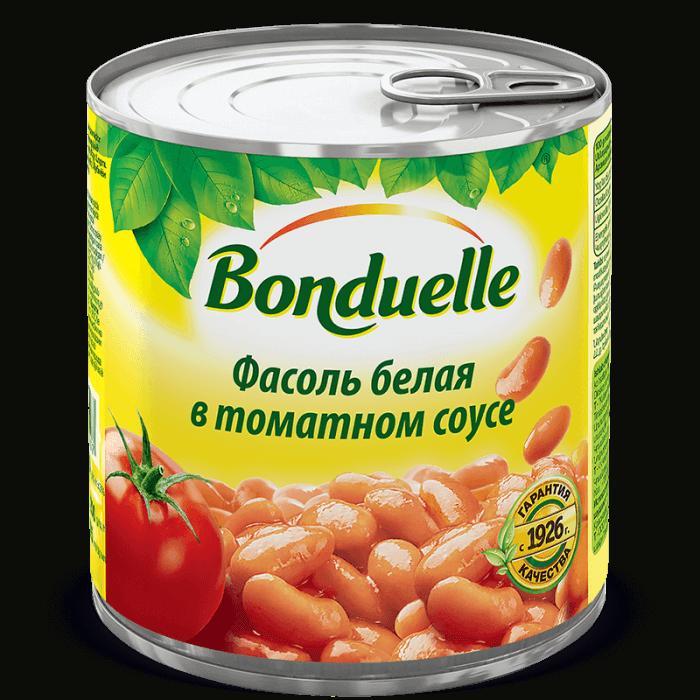 Белая фасоль в томатном соусе