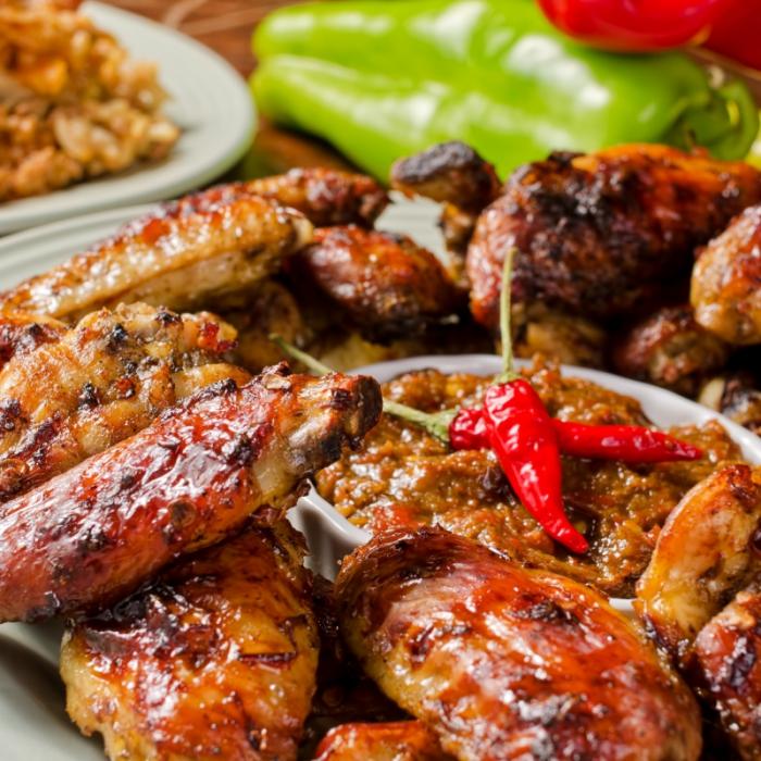 """Цыпленок в карибском маринаде """"Jerk"""""""