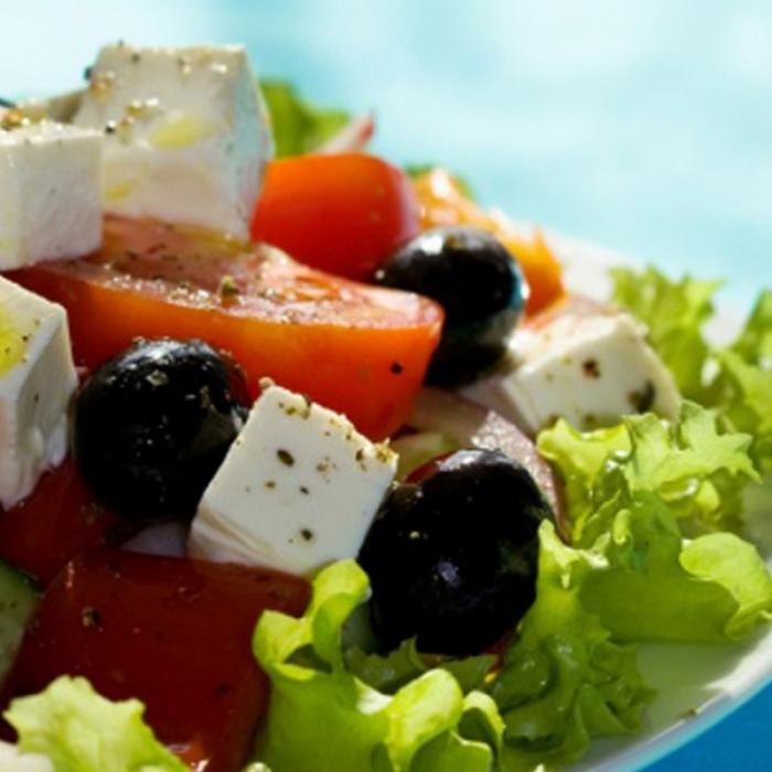 Хориатики – салат по-гречески