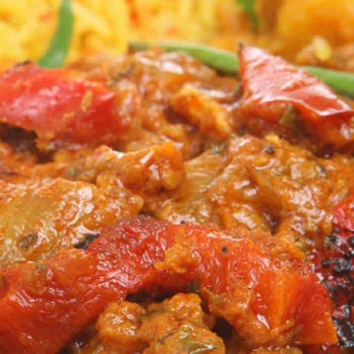 Курица карри по-индийски